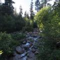 North Cheyenne Creek, North Cheyenne Cañon Park.- North Cheyenne Cañon Park