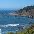 The cove in which Palmer's Point rests.- Palmer's Point + Coastal Access