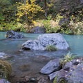 The campground provides some great fishing access points to the McCloud River.- Ah-Di-Na Campground