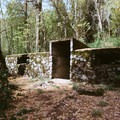Cellar storage at the historic site.- Ah-Di-Na Campground