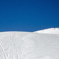 Apporaching the summit from Avalanche Bowl.- Mount Bailey Backcountry Skiing