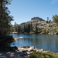 The view from the top of Long Lake.- Long Lake Swimming Hole via Palisades Creek Trail
