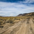 A somewhat rough dirt road leads to the springs, however two-wheel drive passenger cars should be okay.- Fisher Hot Spring