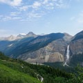 Yoho Valley from the Iceline Shelf.- Iceline Trail
