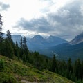 Icefields Parkway.- Dolomite Pass