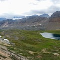 Helen Lake on the hike to Dolomite Pass.- Dolomite Pass