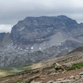 Marmot friend enjoying the view.- Dolomite Pass