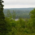 View from Mount Ojibway.- Greenstone Ridge Trail