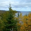 Fall colors on Palisade Head.- Palisade Head