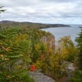 Fall on Palisade Head.- Palisade Head