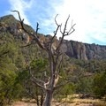 View from the Pinnacle Trail.- South Rim Loop