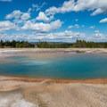Opal Pool.- Grand Prismatic Spring + Midway Geyser Basin