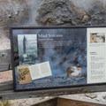 Mud Volcano informational sign.- Mud Volcano Area