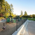 Playground at A.M. Kennedy Park.- A.M. Kennedy Park