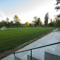 Sports field at A.M. Kennedy Park.- A.M. Kennedy Park