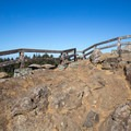 A few more steps to the viewpoint.- Ceremonial Rock