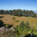 Panoramic view from the top of Ceremonial Rock.- Ceremonial Rock