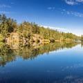 Reflections on Thetis Lake.- Thetis Lake