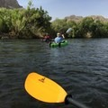 Kayaking on the Salt River.- Lower Salt River: Water Users Camp Circle to Granite Reef