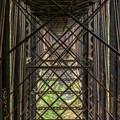 Underneath the bridge.- Niagara Falls + Goldstream Trestle Bridge