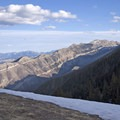 Shell Mountain.- Baldy Basin Saddle via West Baldy Basin