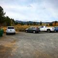 Parking area off of Callahan Ranch Road.- Galena Creek Trail