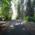 All of the main corridors in Delta Campground are paved.- Delta Campground