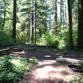 The Delta Campground amphitheater.- Delta Campground