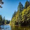 Sooke River.- Spring Salmon Place Campground