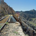 Another view of the trestle.- Goat Canyon Trestle Trail