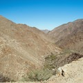 Beautiful view of Goat Canyon looking northwest.- Goat Canyon Trestle Trail