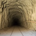 Inside one of the tunnels.- Goat Canyon Trestle Trail