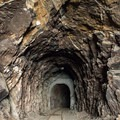 Another tunnel along the Goat Canyon Trestle Trail.- Goat Canyon Trestle Trail