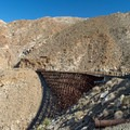 The longest trestle on the Goat Canyon Trestle Trail.- Goat Canyon Trestle Trail
