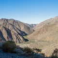 View to the southwest.- Goat Canyon Trestle Trail