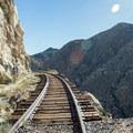 A trestle along the Goat Canyon Trestle Trail.- Goat Canyon Trestle Trail