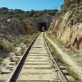 One of many tunnels along the way.- Goat Canyon Trestle Trail