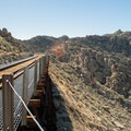 One of several trestles crossing over a small canyon.- Goat Canyon Trestle Trail