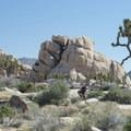 View east in Hidden Valley.- Old Woman Rock - Climbing Crag