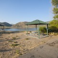 Typical campsite at Crandall Campground.- Crandall Campground + Group Campground