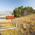 Entry at Lariat Loop Group Campground.- Lariat Loop Group Campground