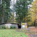 Restrooms at Cascadia State Park.- Cascadia State Park