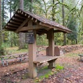 One of the rentable day use picnic areas in Cascadia State Park.- Cascadia State Park