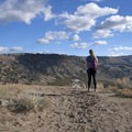 Sweeping landscape views at about 1.6 miles in.- Yellowstone River Picnic Trail