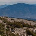 Mount San Jacinto to the southeast of San Gorgonio.- San Gorgonio Mountain via Vivian Creek