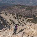 Approaching the summit of San Gorgonio.- San Gorgonio Mountain via Vivian Creek