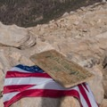 Summit sign.- San Gorgonio Mountain via Vivian Creek