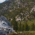Looking toward Mount Baldy on the way to San Gorgonio.- San Gorgonio Mountain via Vivian Creek