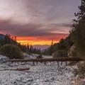 Mills Creek.- San Gorgonio Mountain via Vivian Creek