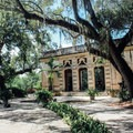 Pavilion located on the grounds- Vizcaya Museum + Gardens